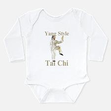 Yang Tai Chi Long Sleeve Infant Bodysuit