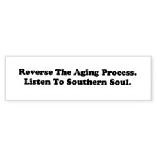 W12 Bumper Sticker: Reverse The Aging Process...