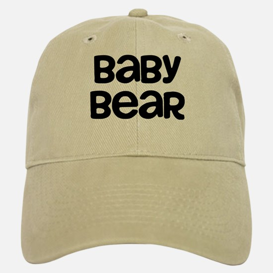 Baby Bear Baseball Baseball Cap