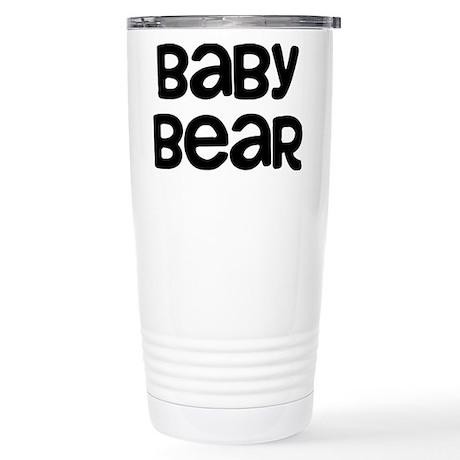 Baby Bear Stainless Steel Travel Mug