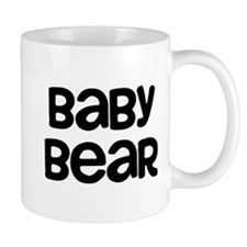 Baby Bear Small Mug