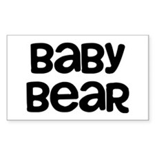 Baby Bear Decal
