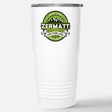 Zermatt Green Stainless Steel Travel Mug
