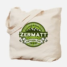Zermatt Green Tote Bag