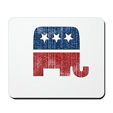election animal elefant republican Mousepad