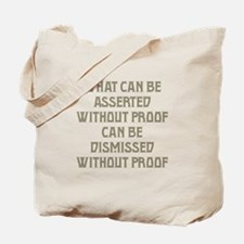 Without Proof Tote Bag