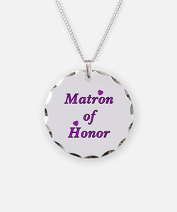 Matron of Honor Simply Love Necklace