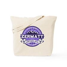 Zermatt Violet Tote Bag