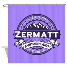 Zermatt Violet Shower Curtain