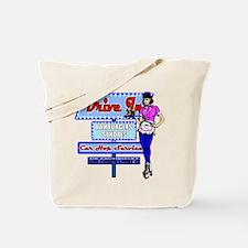 At the Drive In Retro 50's Memories Tote Bag