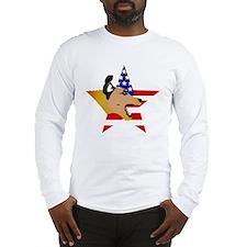 Funny Terrierman.com Long Sleeve T-Shirt