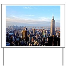 Empire State Building:Skyline Yard Sign