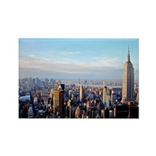 Empire State Building:Skyline Rectangle Magnet