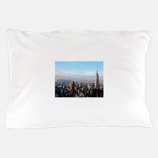 Empire State Building:Skyline Pillow Case