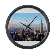 Empire State Building:Skyline Large Wall Clock
