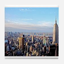 Empire State Building:Skyline Tile Coaster