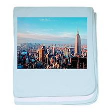 Empire State Building:Skyline baby blanket