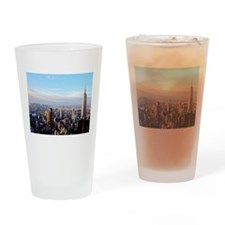 Empire State Building:Skyline Drinking Glass