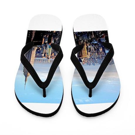Empire State Building:Skyline Flip Flops