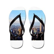 Empire State Building:Skyline Flip Flops