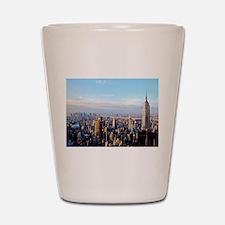 Empire State Building:Skyline Shot Glass