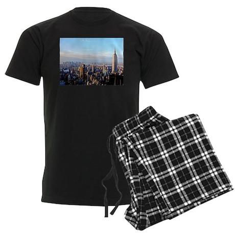 Empire State Building:Skyline Men's Dark Pajamas