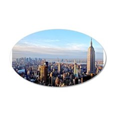 Empire State Building:Skyline Wall Decal