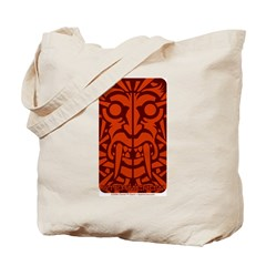 Tribal Vampire Tattoo Tote Bag
