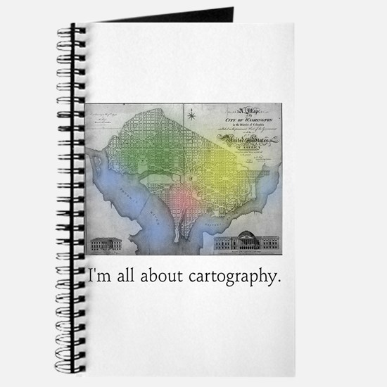 I'm All About Cartography Journal