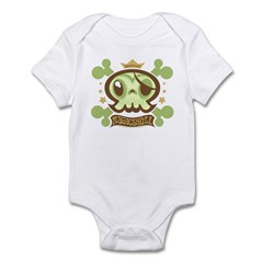 Winged Magic Skull Infant Creeper