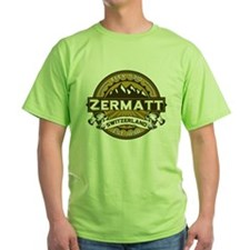 Zermatt Tan T-Shirt