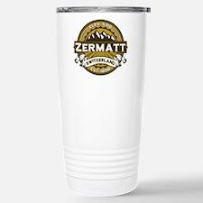 Zermatt Tan Stainless Steel Travel Mug