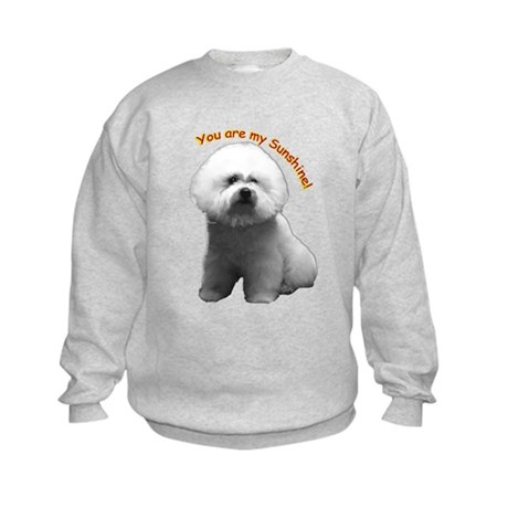 Bichon Frise Kids Sweatshirt
