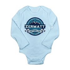 Zermatt Ice Long Sleeve Infant Bodysuit