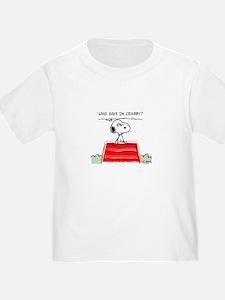 Crabby Snoopy T