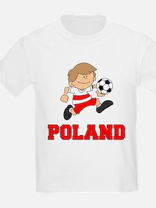 Poland Football (Soccer) T-Shirt