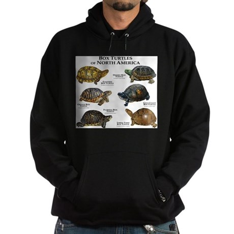 Box Turtles of North America Hoodie (dark)