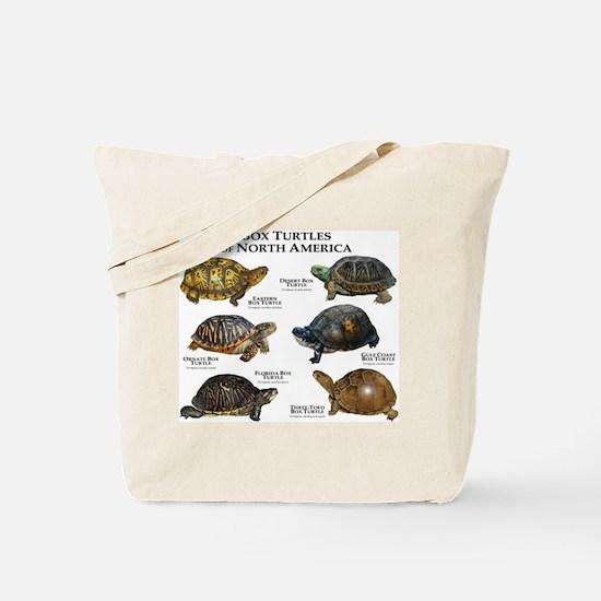 Box Turtles of North America Tote Bag