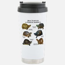 Box Turtles of North America Stainless Steel Trave