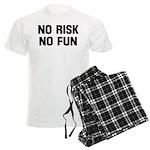 No risk no fun Men's Light Pajamas