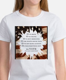 Voter ID t-shirts Tee