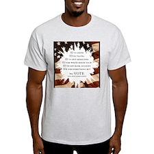 Voter ID t-shirts T-Shirt