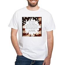 Voter ID t-shirts Shirt