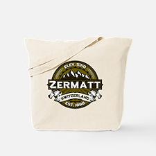 Zermatt Olive Tote Bag