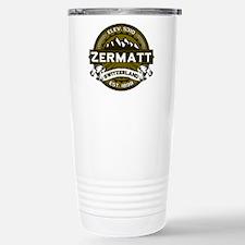 Zermatt Olive Stainless Steel Travel Mug