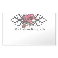 Unique Indian ringneck Decal