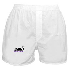 Time for a Cat Nap - Kitty Boxer Shorts
