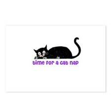 Time for a Cat Nap - Kitty Postcards (Package of 8