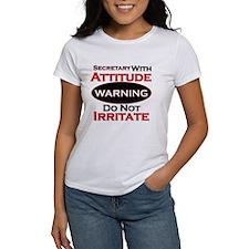 Attitude secretary T-Shirt