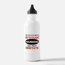 Cute School secretary Water Bottle